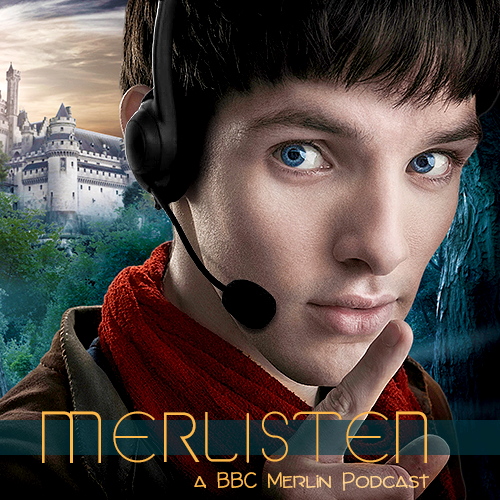 cover art in which Merlin wears a headset with microphone and holds up a finger to his lips as if to tell you to be quiet
